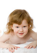 Detaily fotografie Cute child