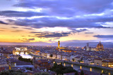 Fototapety Sunset in Florence