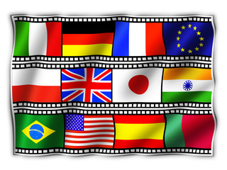 Film Bandiera-Flag Film-Drapeau Cinema