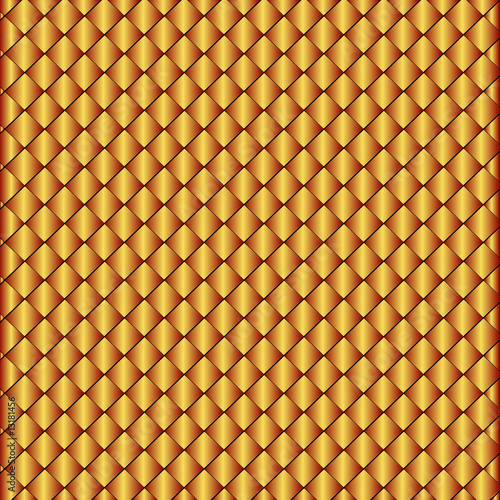 Sparkling background from small bronze rhombuses (vector)