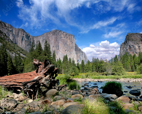 El Capitan View in Yosemite Nation Park