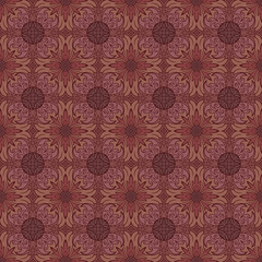 Seamless medieval pattern