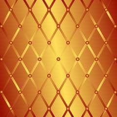 Bronze geometric background (vector)