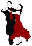Fototapety Dancers