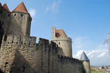 Les fortifications de Carcassonne poster