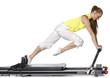 Detaily fotografie Fitness holka dělá pilates na allegro