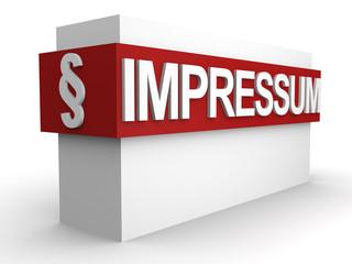 Impressum Box