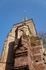 Old church in Holland