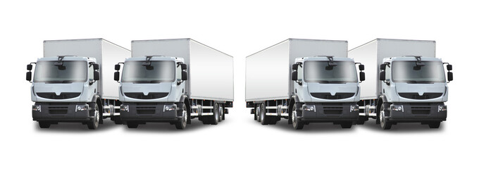 2+2 camions