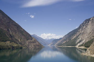 Panoramic View of Seton Lake