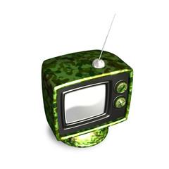 レトロなテレビ