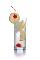 Cocktail Tom Collins looks like Gin Fizz