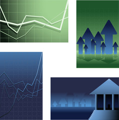 Finance backgrounds