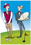 Lord playing golf poster