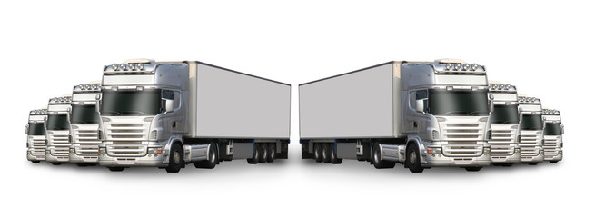 camions en perspective