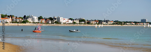 Panoramique plage de Royan en France