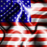 Bandiera Stati Uniti-United States Flag-Drapeau Etats Unis poster