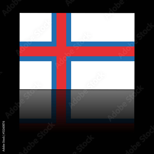 official flag of faroe islands