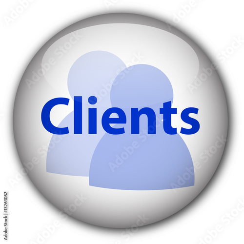 """Clients"" button (blue/white)"