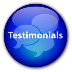 """Testimonials"" button (blue)"