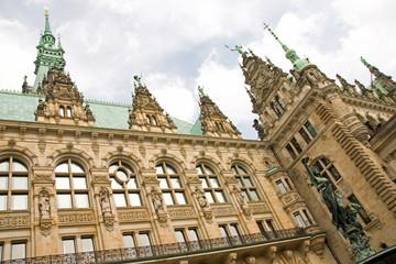Innenhof Hamburger Rathaus