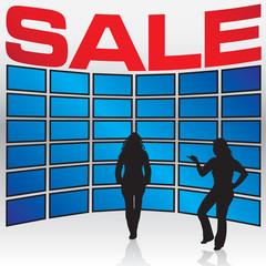 Electronics Store Sale