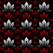 Seamless wallpaper vector illustration floral background.
