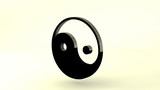 3D Rotating ZEN - Ying Yang symbol,loopable