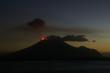 Leinwanddruck Bild - Ausbruch des Vulkan Lopevi, Vanuatu