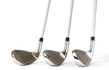 Pitching Wedge, 8 and 9 Iron Golf Clubs