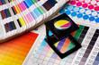 Leinwanddruck Bild - Color management set