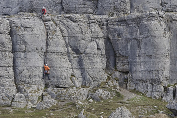 Irish mountain climbers
