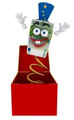 Euro toy box