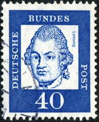Deutsche Bundes Post. Lessing.