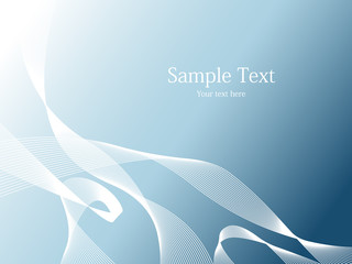 simple abstract vector page design