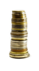 Column of coins