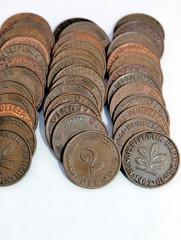 Zwei Pfennig ohne Wert