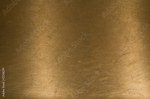 Brass metal background - 13306291