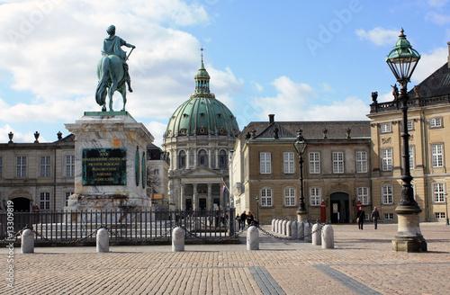 Kopenhagen - Schloßplatz Amalienborg