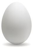 Fototapety Big white egg