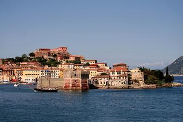 Porto Ferraio, Hafen Insel Elba, Toskana, Italien,
