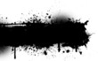 Ink splat grunge