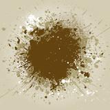 Grunge splatter