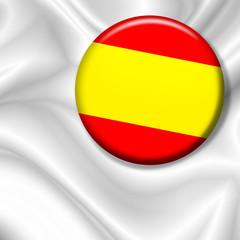 Bandiera Spilla Spagna-Spain Badge Flag-Drapeau Espagne
