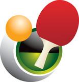 Ping pong swoosh poster