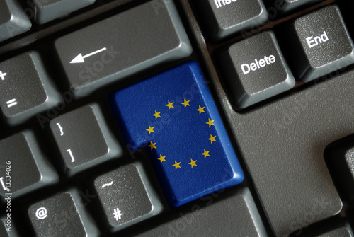 """EU flag"" key on keyboard"