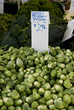brussel sprouts for sale at farmers market