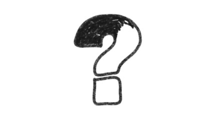 Graphite Question Mark