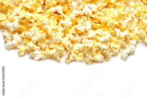 Popcorn with Copy Space