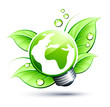 Concept nature verte / énergie verte